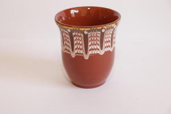 Чаша 250гр. Троянска шарка